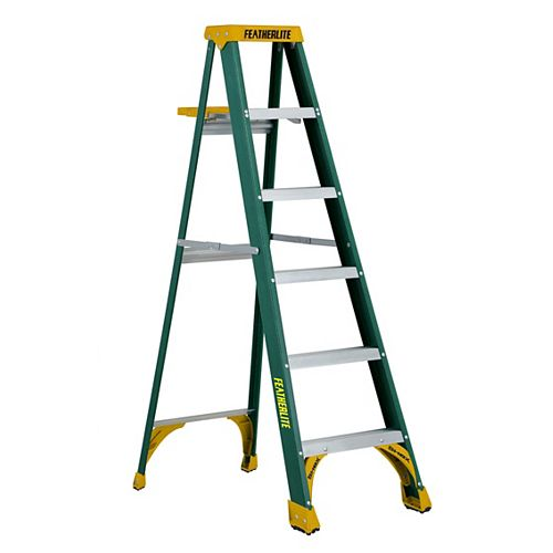 6 ft. Grade II Fibreglass Step Ladder