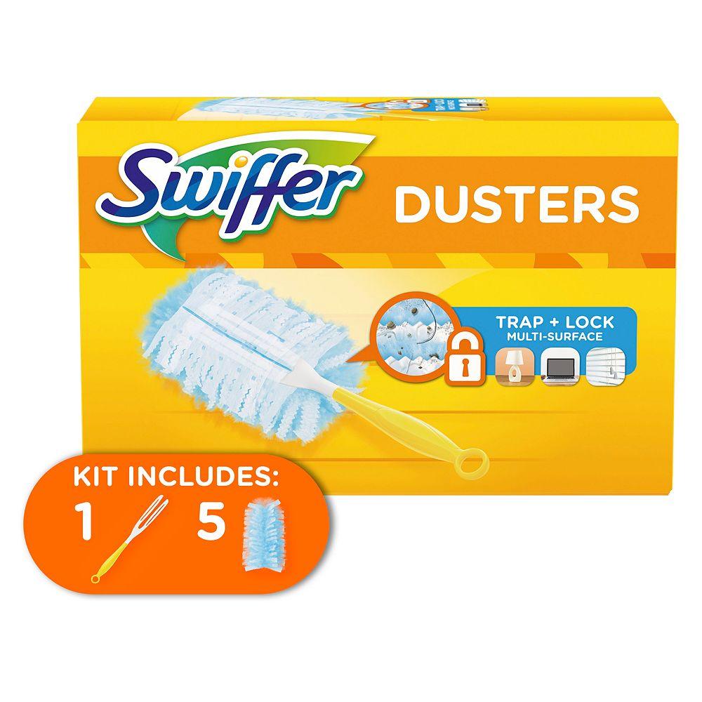 Swiffer Swiffer Dusters Dusting Kit (1 Handle, 5 Dusters)