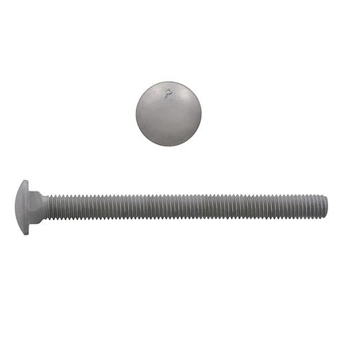 1/2-inch x 6-inch Carriage Bolt - Hot Dipped Galvanized - UNC