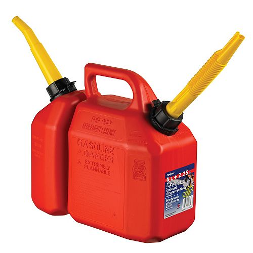 2-in-1 Combo Can - Gas and Oil