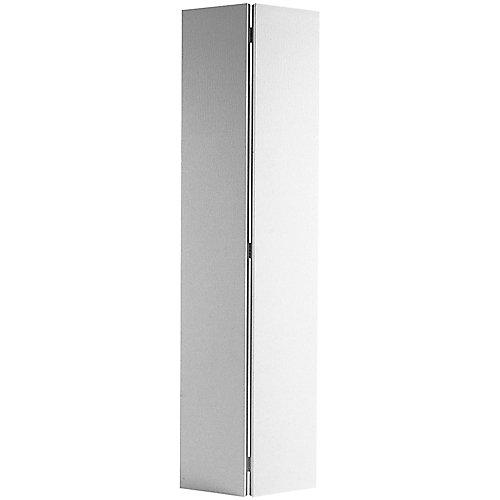 24-inch x 80-inch Primed Hardboard Bifold Door