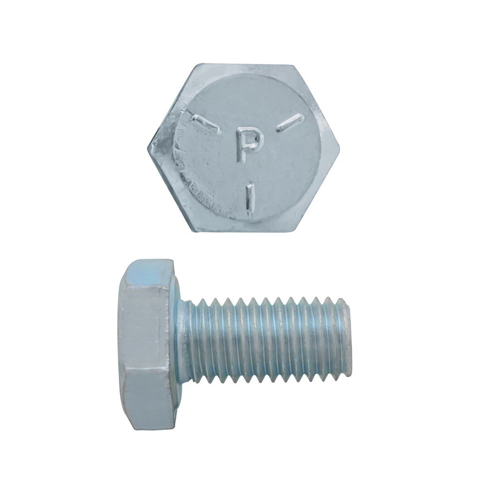Paulin 1/4-inch x 1/2-inch Hex Head Cap Screw - Zinc Plated - Grade 5 - UNF