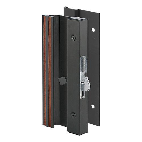 Low Profile/Low Base Black Aluminum Latch Handle