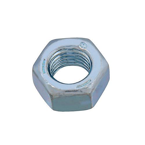 Écrou hexagonal fini 5/16 po-24 - zingué - qualité 5 - UNF