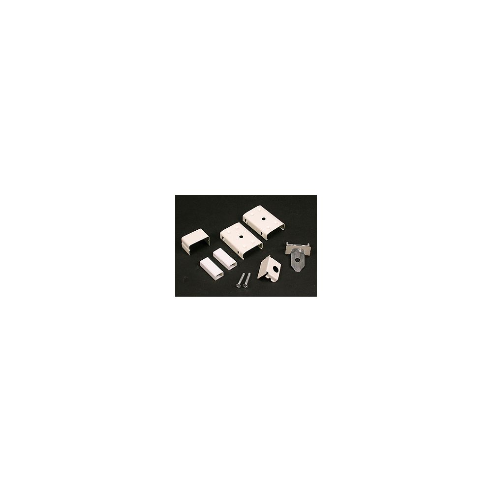 Legrand Wiremold Metal Raceway Accessory Kit Ivory