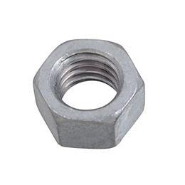Écrou hexagonal fini de grade 2 surdimensionné de 3/8-16 pouces - galvanisé à chaud - UNC