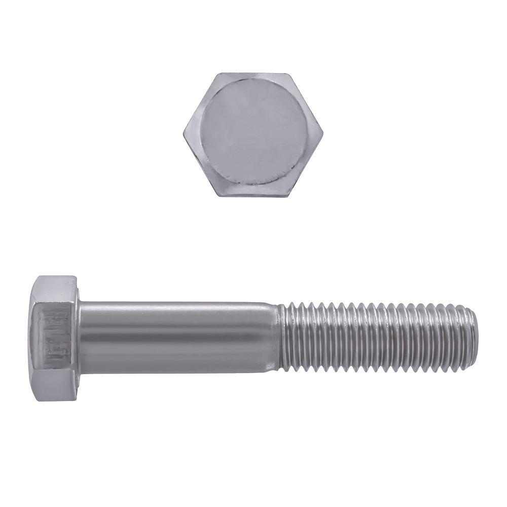 Paulin 5/8-inch-11 x 3-1/2-inch 18.8 Stainless Steel Hex Head Cap Screw - UNC