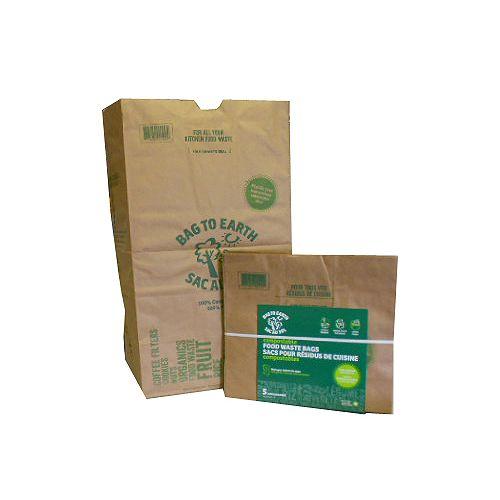 Grands sacs pour résidus de cuisine, paquet de 5