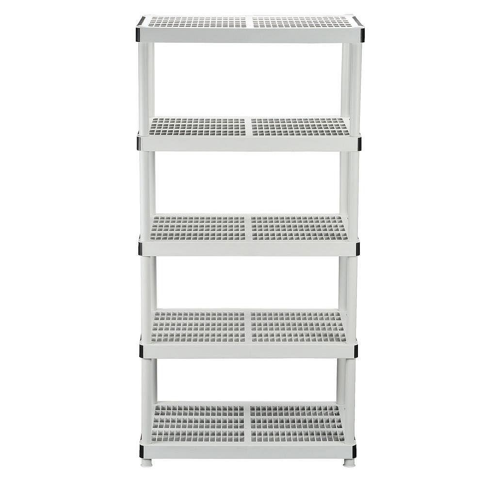 HDX 24-inch 5-Shelf Storage Organizer