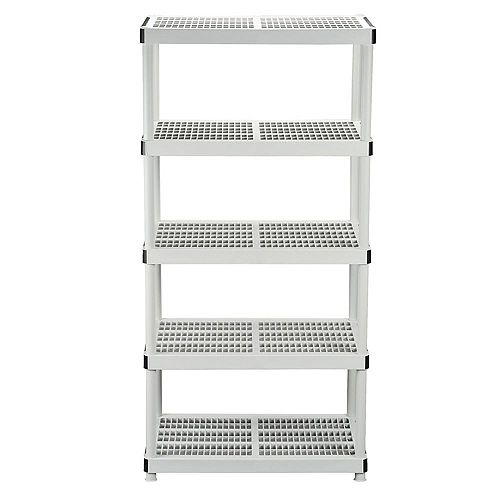 HDX 24-inch 5-Shelf Storage Organizer