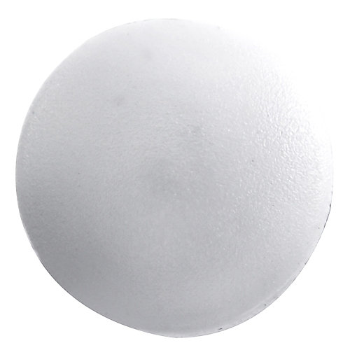 #1 Plastic Screw Cover White