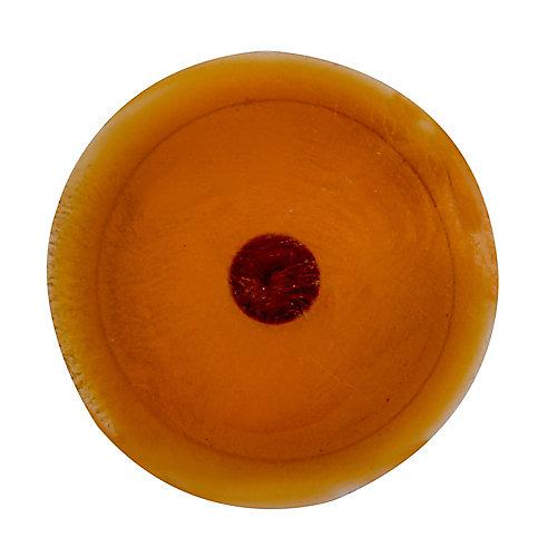 #1 Plastic Screw Cover Brown
