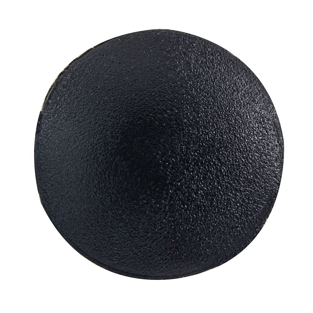 Paulin #1 Plastic Square Drive Screw Cover Black