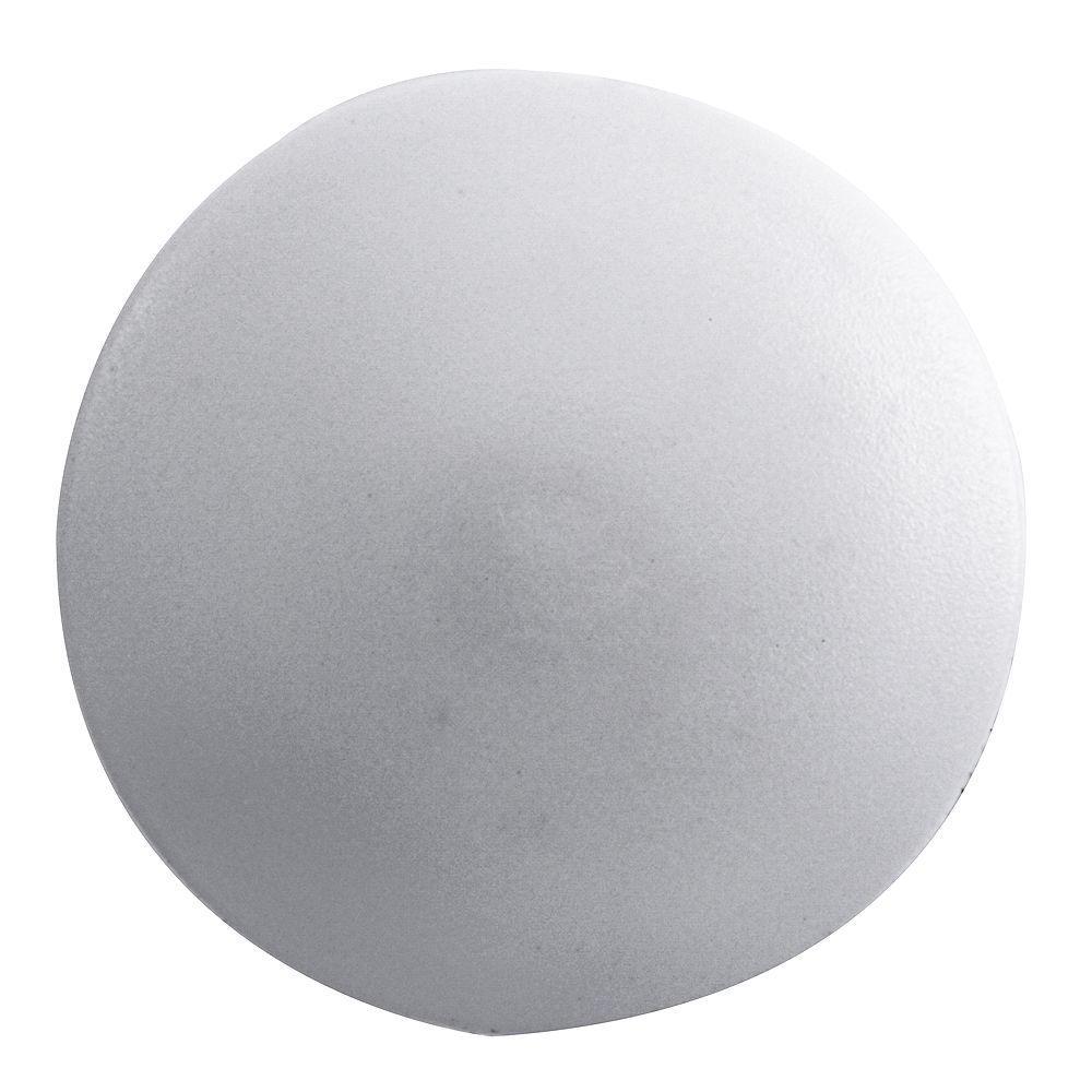 Paulin Couvercle de vis à tête carrée en plastique #2 Blanc