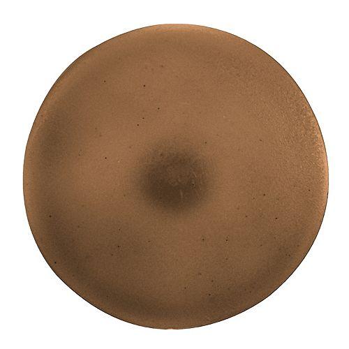 Paulin #2 Plastic Screw Cover Brown