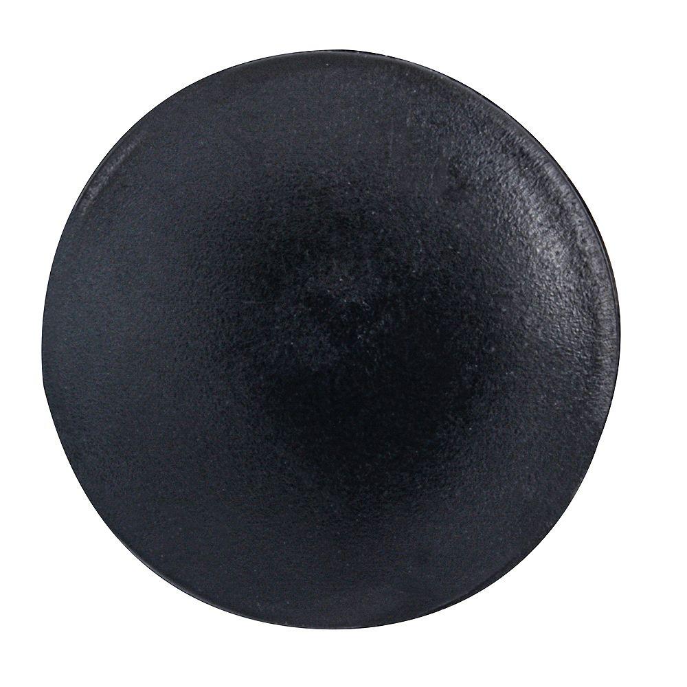 Paulin #2 Couvercle de vis à tête carrée en plastique noir