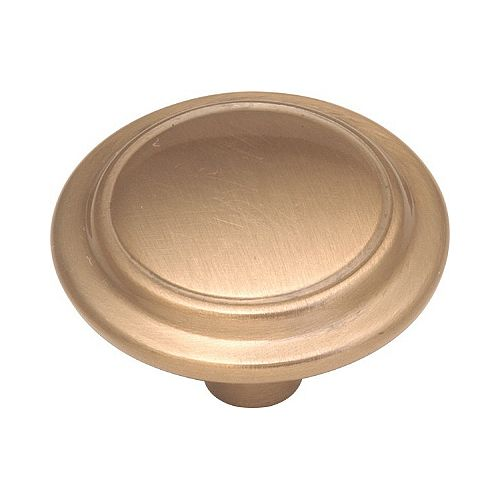 Belwith Satin Bronze Knob 1-1/4 In. Diameter