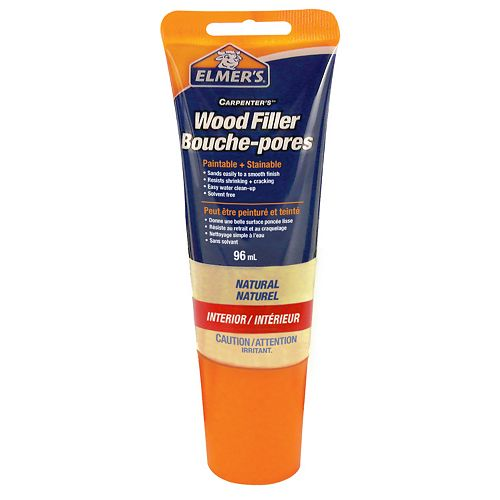 Tinted Wood Filler Natural Tube