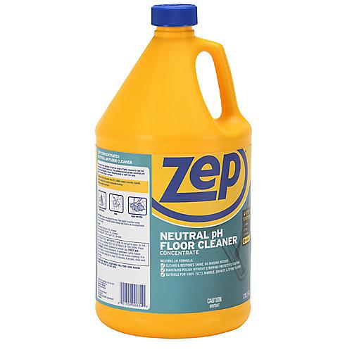 Nettoyant Zep pour plancher neutre/toute surface 3,78 L