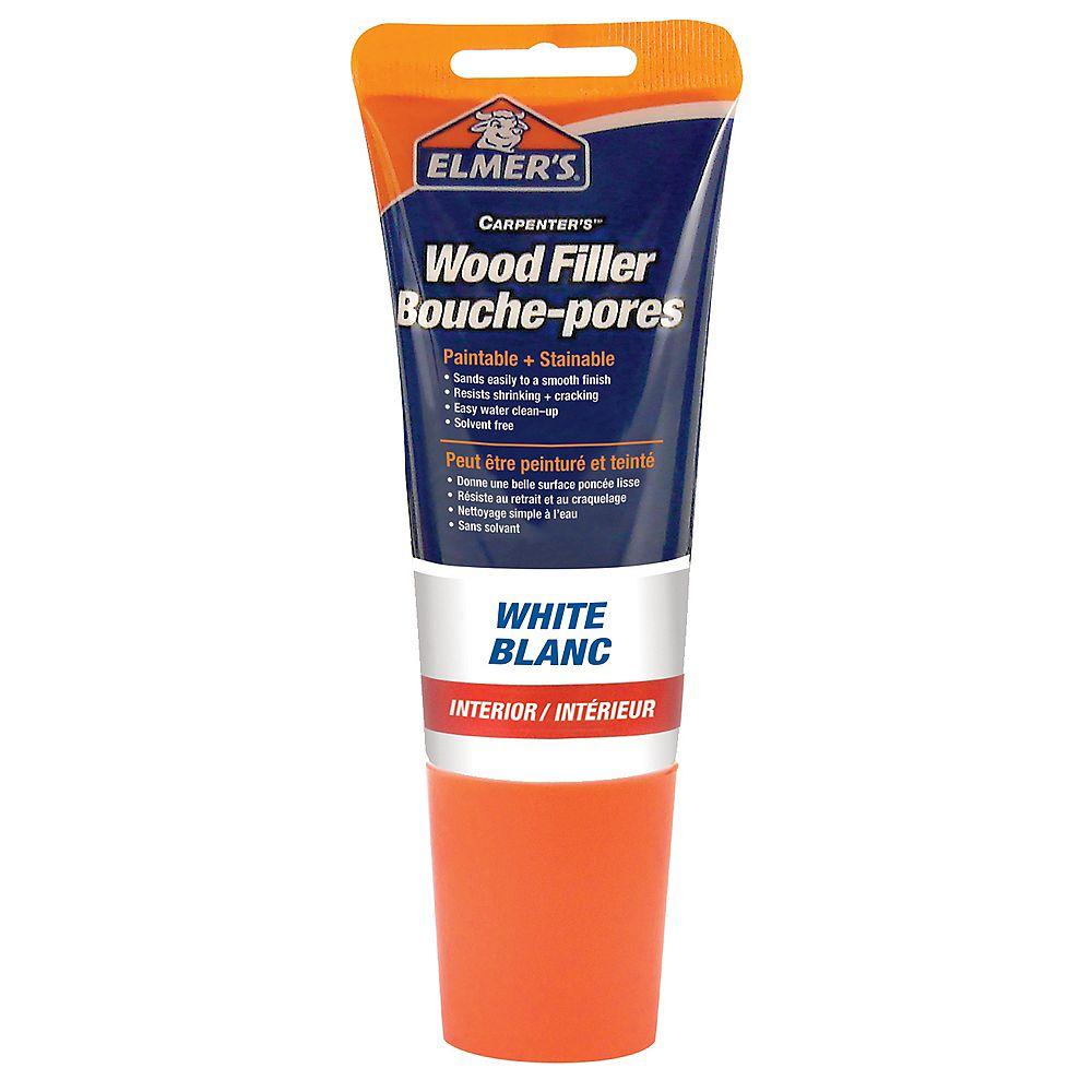 Elmer's Tinted Wood Filler White Tube