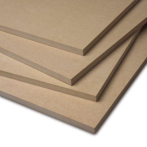 3/4X49X97 Panneau de fibres à densité moyenne