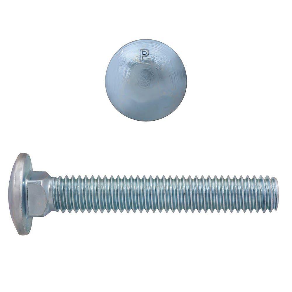 Paulin 3/8-inch x 2-1/2-inch Carriage Bolt - Zinc Plated - UNC