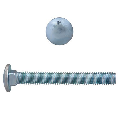 Paulin 3/8-inch x 3-inch Carriage Bolt - Zinc Plated - UNC