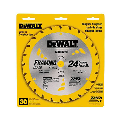 7-1/4 In. 24T Saw Blade