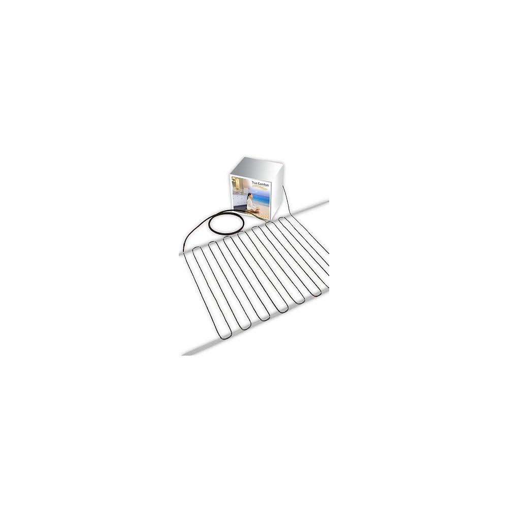 True Comfort Câble chauffant pour plancher True Comfort 240-V - Couvre de 58 à 74 pi. carrés selon espacement