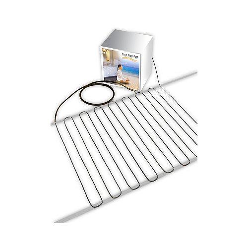 Câble chauffant pour plancher 240-V - Couvre de 147 à 205 pi. carrés selon espacement