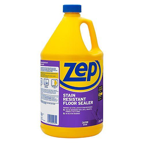Scellant à plancher Zep résistant aux taches 3,78 L