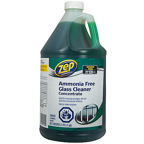 Zep Glass/Tinted Window Cleaner Concentrate 3.78L