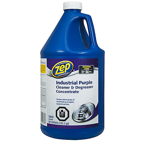 Nettoyant pourpre industriel 3,78 L