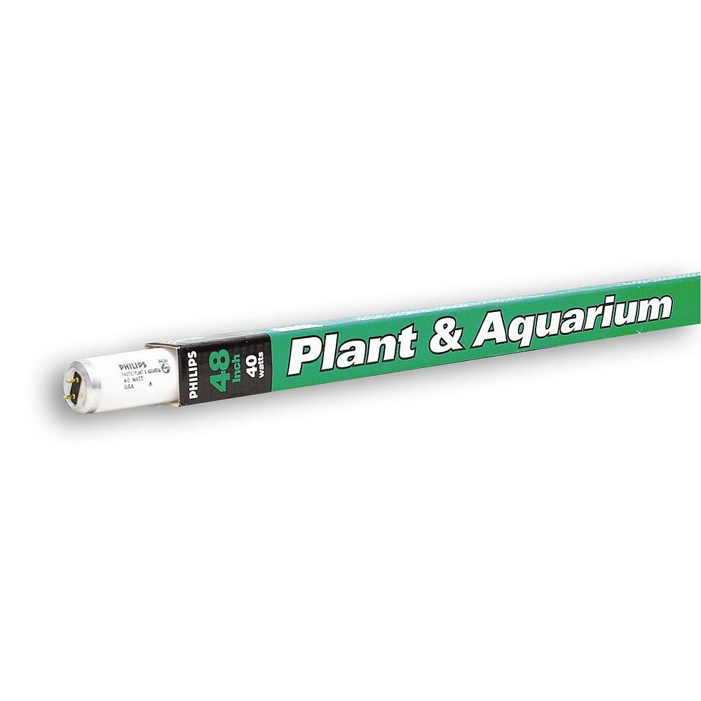 "Philips Fluorescent 40W T12 48"" Plant Light"
