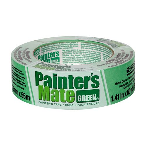 Painter's Tape, 1.41 inch x 60 yds., Green