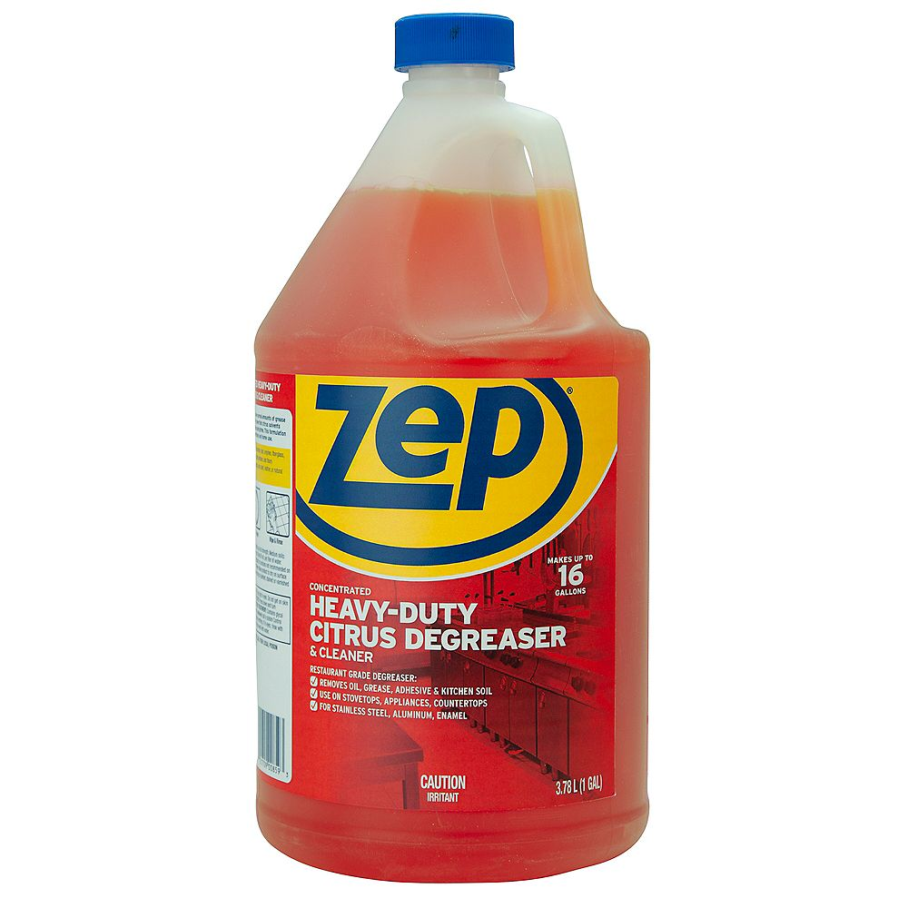 Zep Commercial Zep Concentrated Heavy-Duty Citrus Degreaser & Cleaner 1Gal