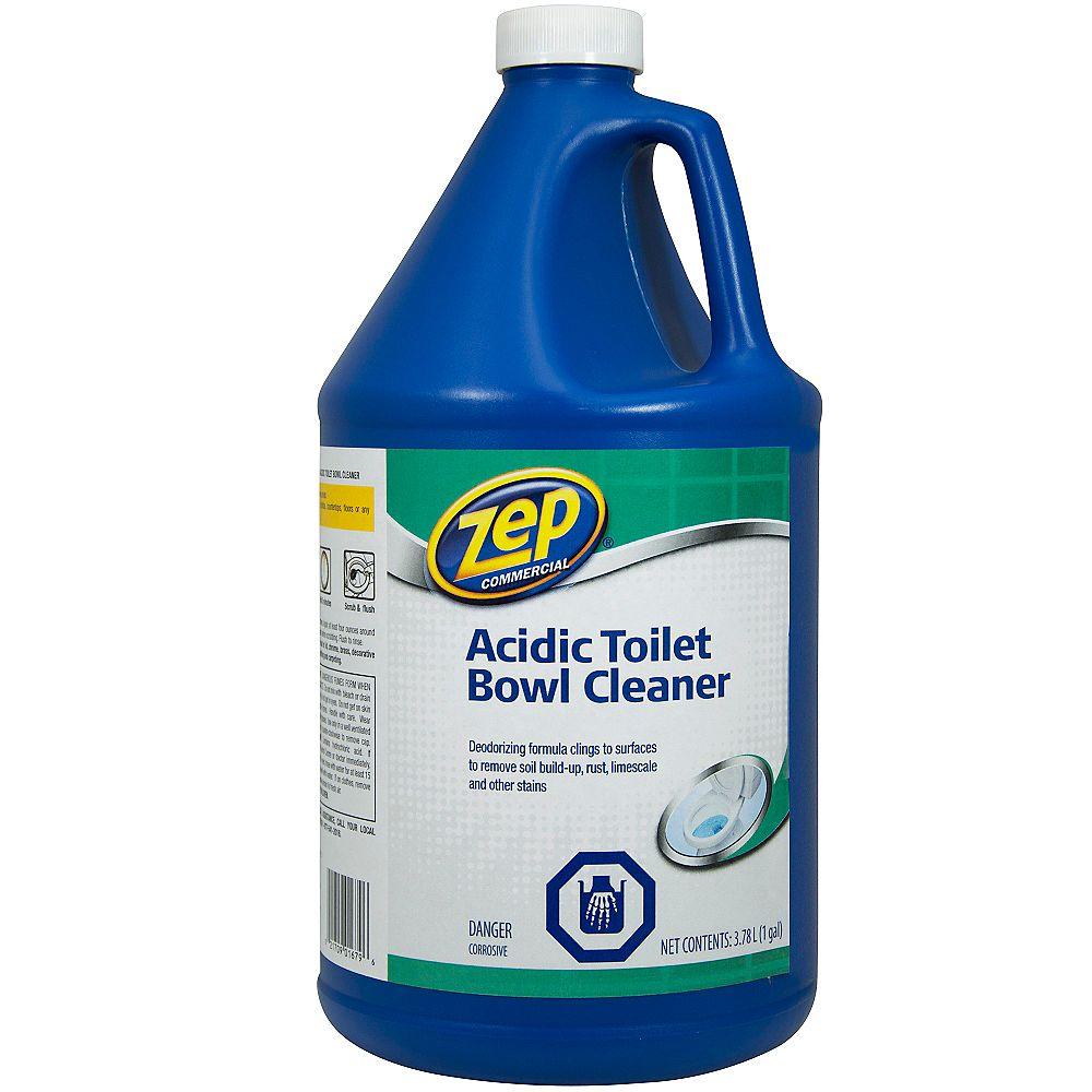Zep Commercial Acidic Toilet Bowl Cleaner- 3.78 L
