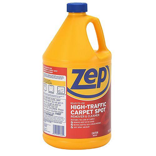 Produit nettoyant pour moquettes à fort trafic – 3.78 L