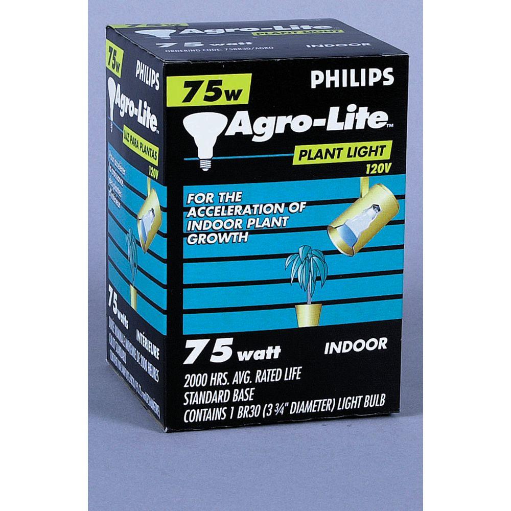 Philips À incandescence pour plantes BR30 75 W BR30 à faisceau large pour plantes 75 W