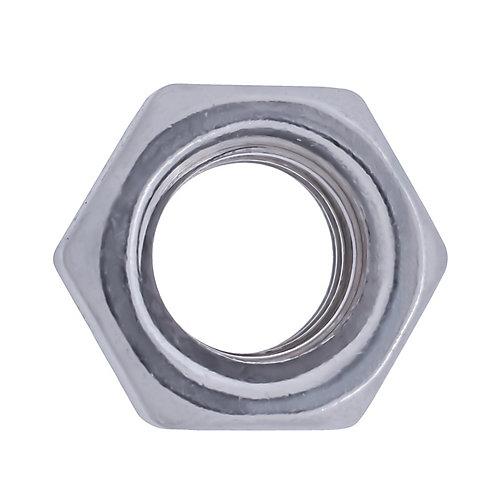 Écrou hexagonal 1/4 po 20 en acier inoxydable fini 18,8 - UNC