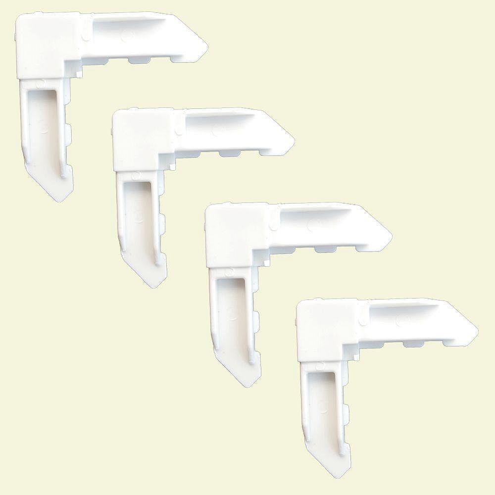 DIY fermant les coins à clef 4 - blanc de poly-sac