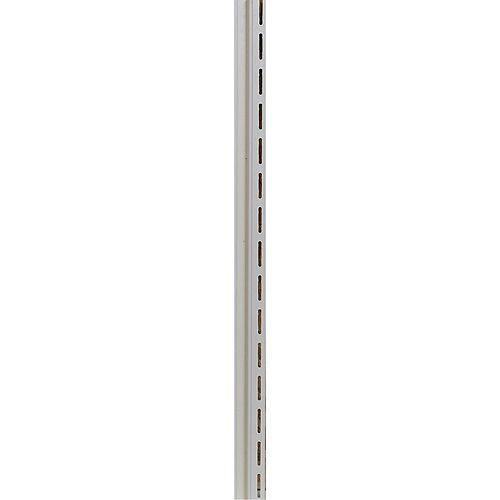 1/2-inch F-Channel White (Piece)