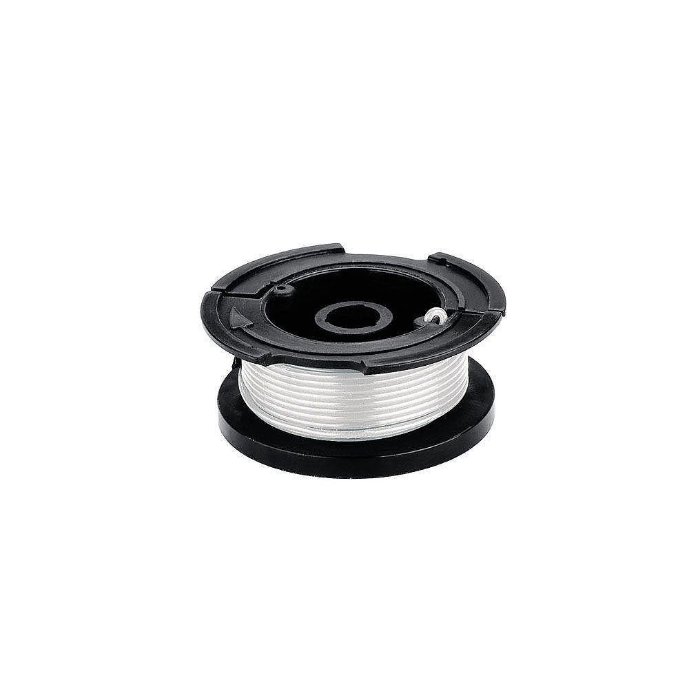 BLACK+DECKER 0,065 po x 30 pi. Bobine d'alimentation automatique AFS de remplacement pour tondeuse électrique à gazon à fils/bordurière/bordurière/ tondeuse à gazon électrique