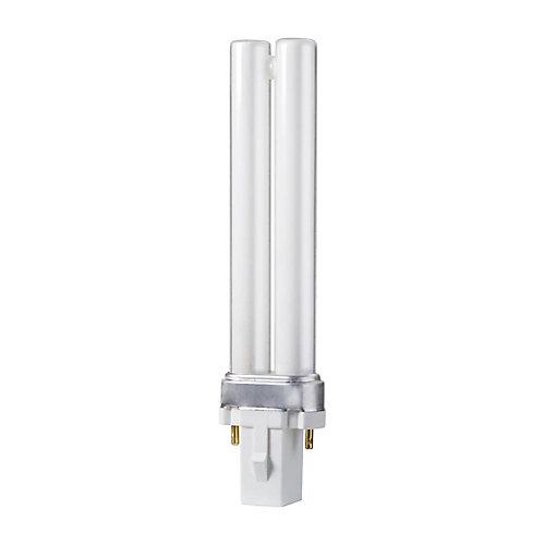 CFL 7W PLS Warm White 2 Pin