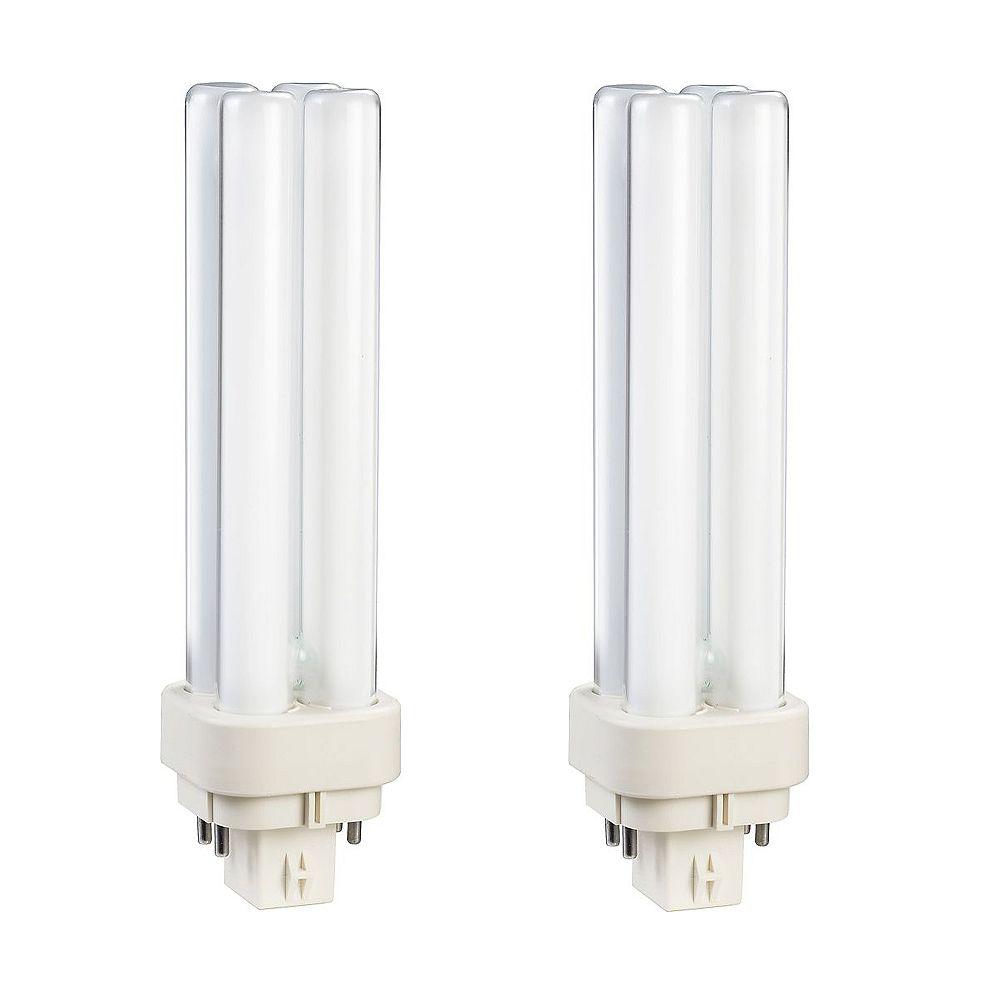 Philips 13W PL-C Warm White 2-Pin CFL Light Bulb
