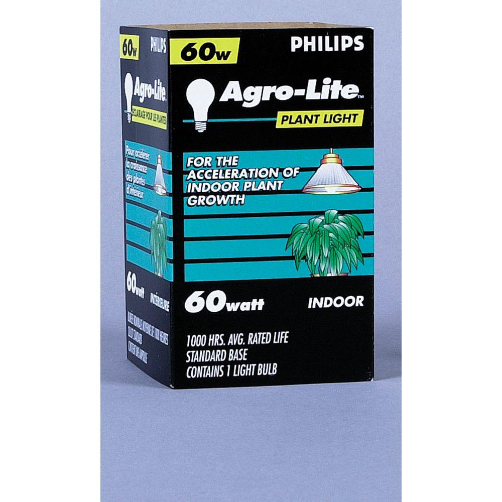 Philips À incandescence pour plantes 60 W Lumière pour plantes 60 W