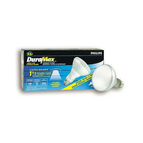 65W Incandescent BR30 Reflector Flood Light (3-Pack)