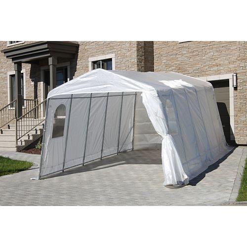 11 ft. x 20 ft. Sunrise Tunnel Car Shelter