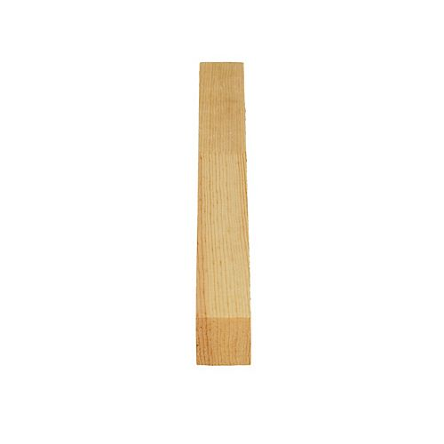 Alexandria Moulding Finger Jointed Pine D4S 1 In. x 1 In. x 8 Ft.