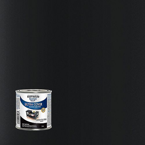 Peinture Multi Usages En Noir Semi-Lustré - 236 mL